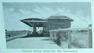 1944 Home Hill Railway Station