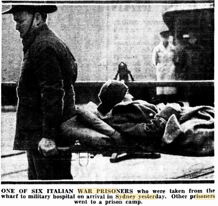 Italian POW Hospital Queen Mary 1941