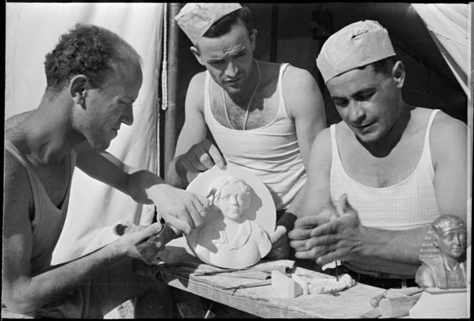 NZ Italian Prisoners of War Craft Work