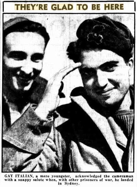 QM August 1941 Italian POW