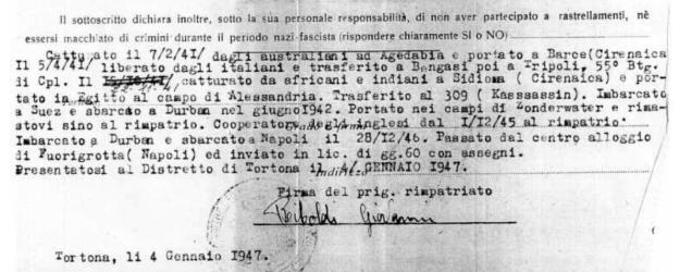 Riboldi Declaration