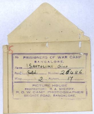 Santolini Bangalore envelope