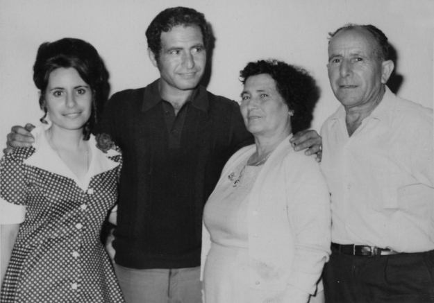 Q2 Tigani Family Maria Rosa, Domenico, Domenica, Vincenzo Brisbane