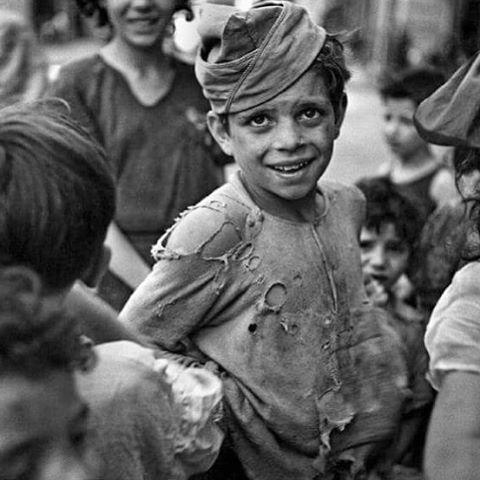 Young Boy in Naples July 1944 Lt Wayne Miller