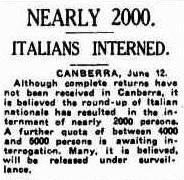 Interned June 1942