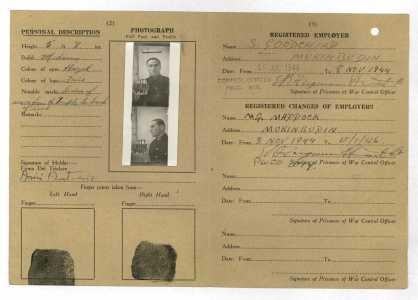 Antonio Arici PW Identity Card
