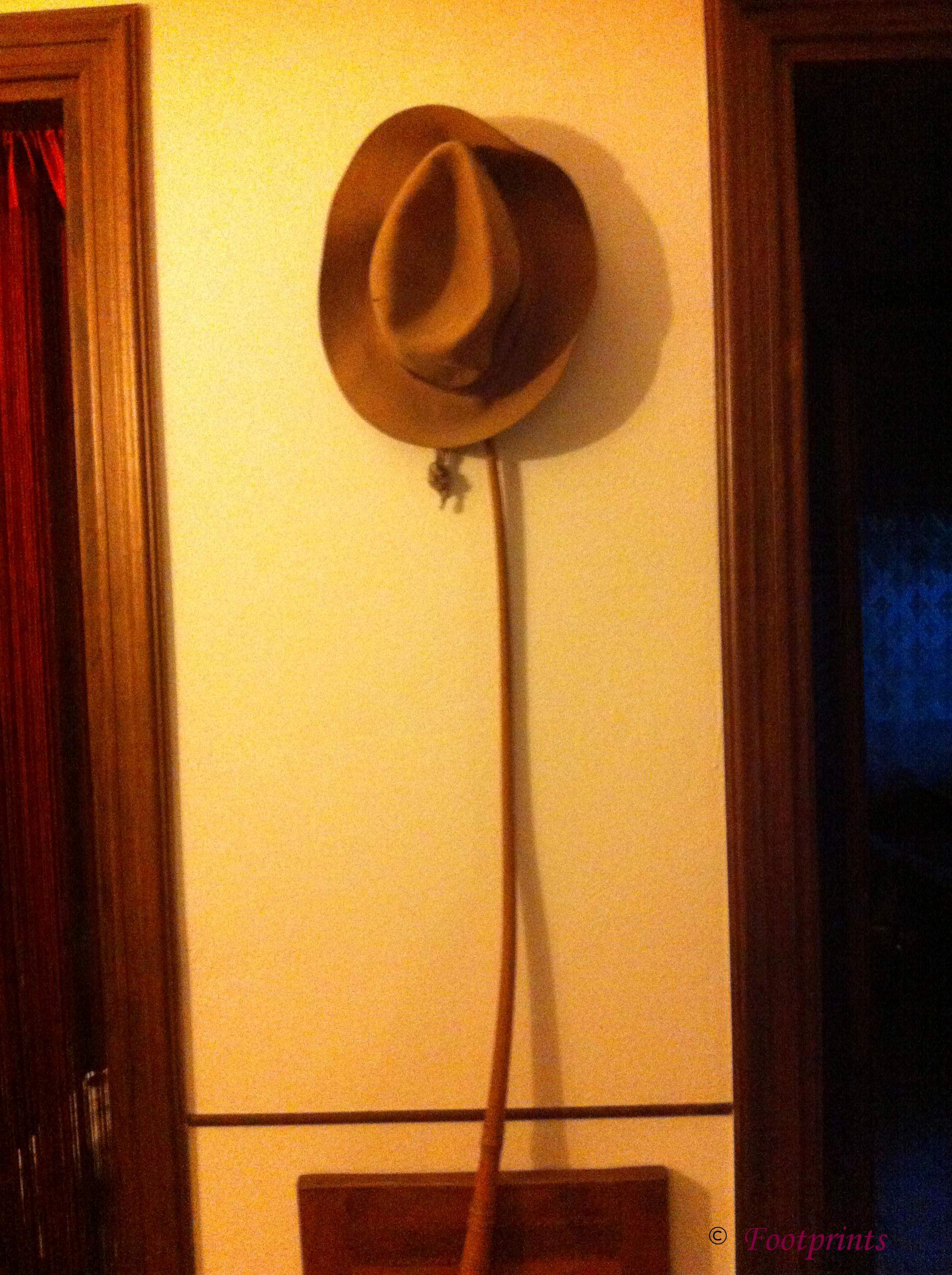 Antonio Arici. Hat and Whip from WA