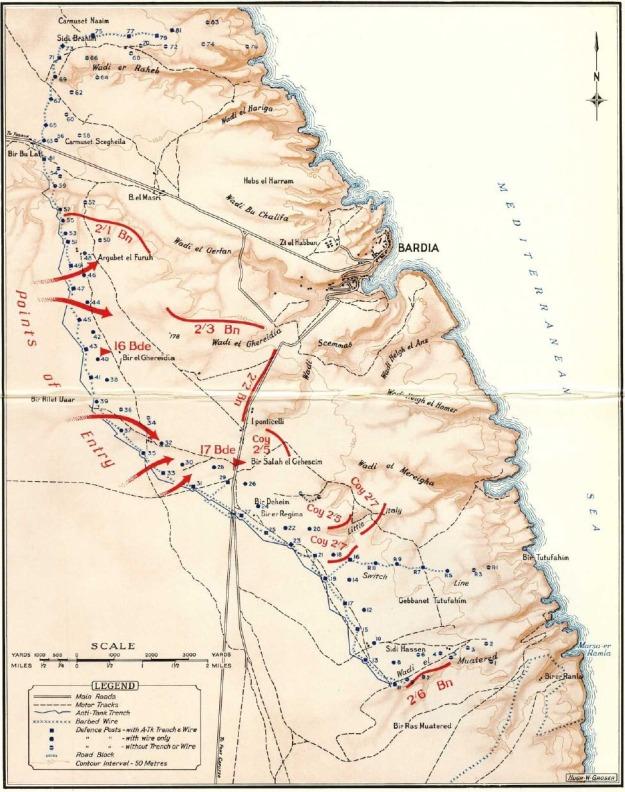 Map Bardia