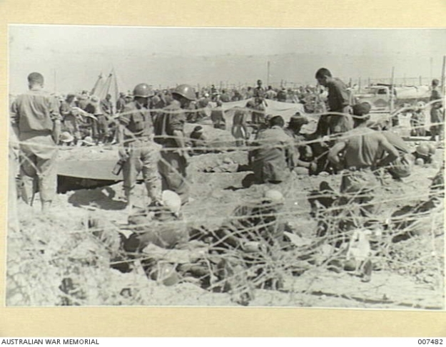 Tobruk POW CAge