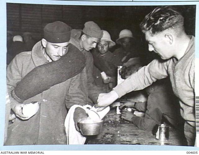 20 December first meal in Haifa