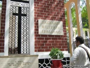 Cemetery in Mumbai