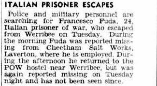 1945 escape