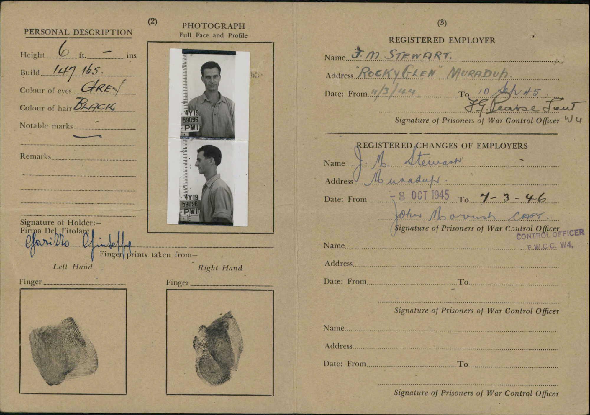 Garizzo Identity Card 1